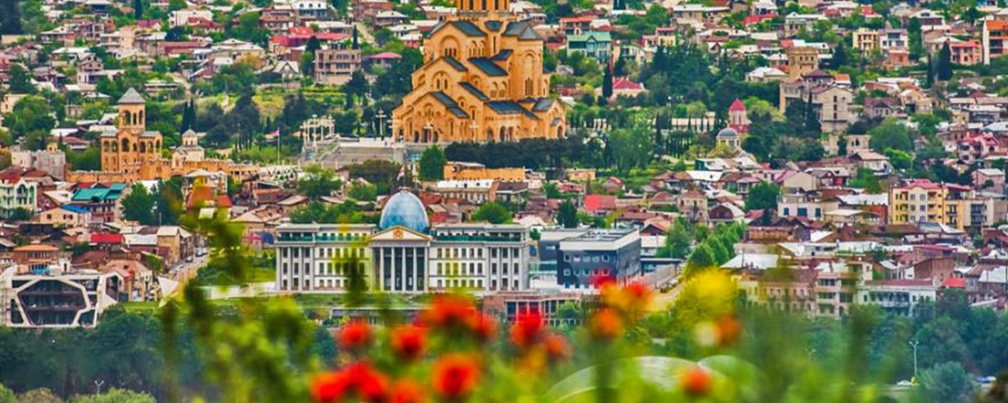 شهر زیبای تفلیس در قلب کشور گرجستان جای گرفته