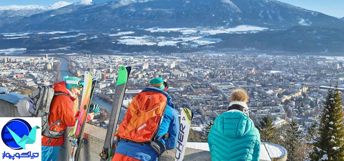 اسکی بازان در اتریش