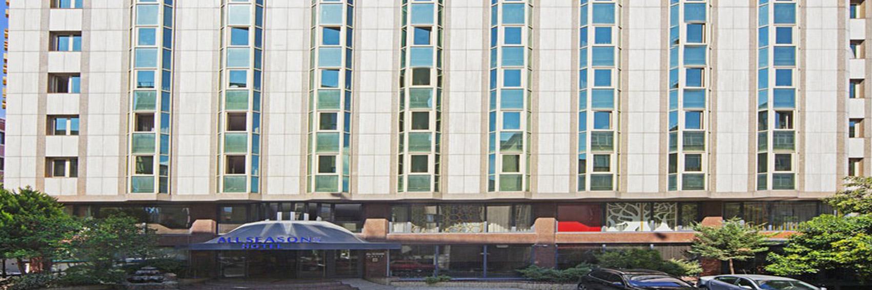 نمایی زیبا از هتل آل این در استانبول